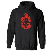 2016 hot sale Hero Suicide Squad Joker Punk Hooded Mens Hoodie in Harley Quinn Mens Hoodies and Sweatshirts Street Brand hoodies