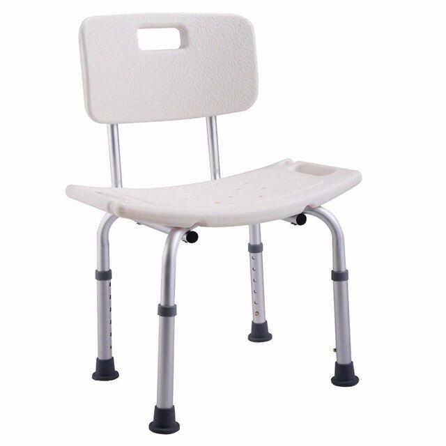 Goplus 6 Hohenverstellbar Bad Dusche Stuhl Medizinische Sitz Hocker