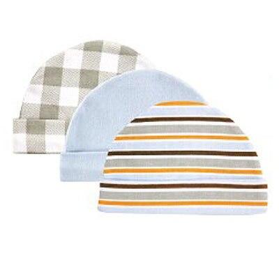 3 шт./лот новорожденного ребенка шляпы и шапки сша Luvable друзья цветочный плед аксессуары для детей для 0-3 месяцев шапочки для новорожденных