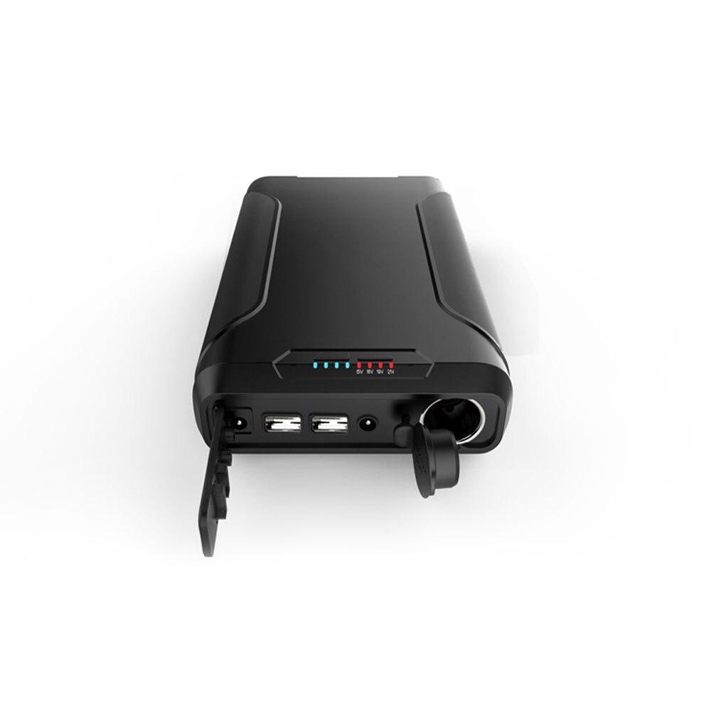 72000 mAh Портативный Зарядное устройство Внешний Батарея Мощность банк быстрой зарядки Технология двойной Порты usb Зарядное устройство для на