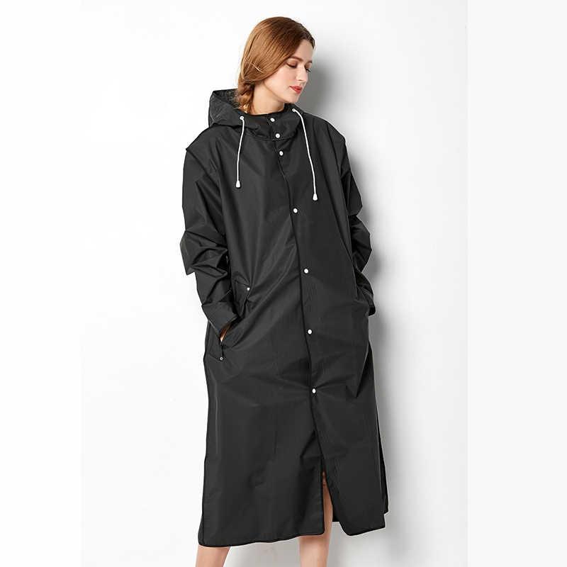 2e2d978df Yuding One Women/men Raincoat Cool Black Outside Rainwear Rain Coat For Men  Long Jackets Tour Poncho Raincoat Waterproof Poncho