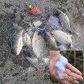 Anmuka Nuevo Diseño Cobre Primavera Shoal Red beads Luminoso Giratoria de pesca señuelo ganchos de pesca aparejos de pesca