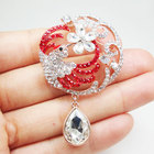 Red Austria Crystal ...