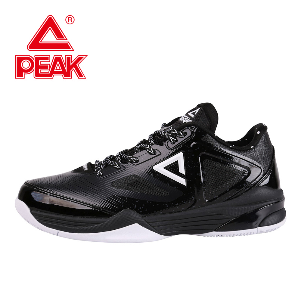 PEAK TPIII Tony Parker COSTAR Professional Player Men Basketball Shoes Men Gradient Dual Tech Low Top Sports Athletic Sneakers peak sport lightning ii men authent basketball shoes competitions athletic boots foothold cushion 3 tech sneakers eur 40 50