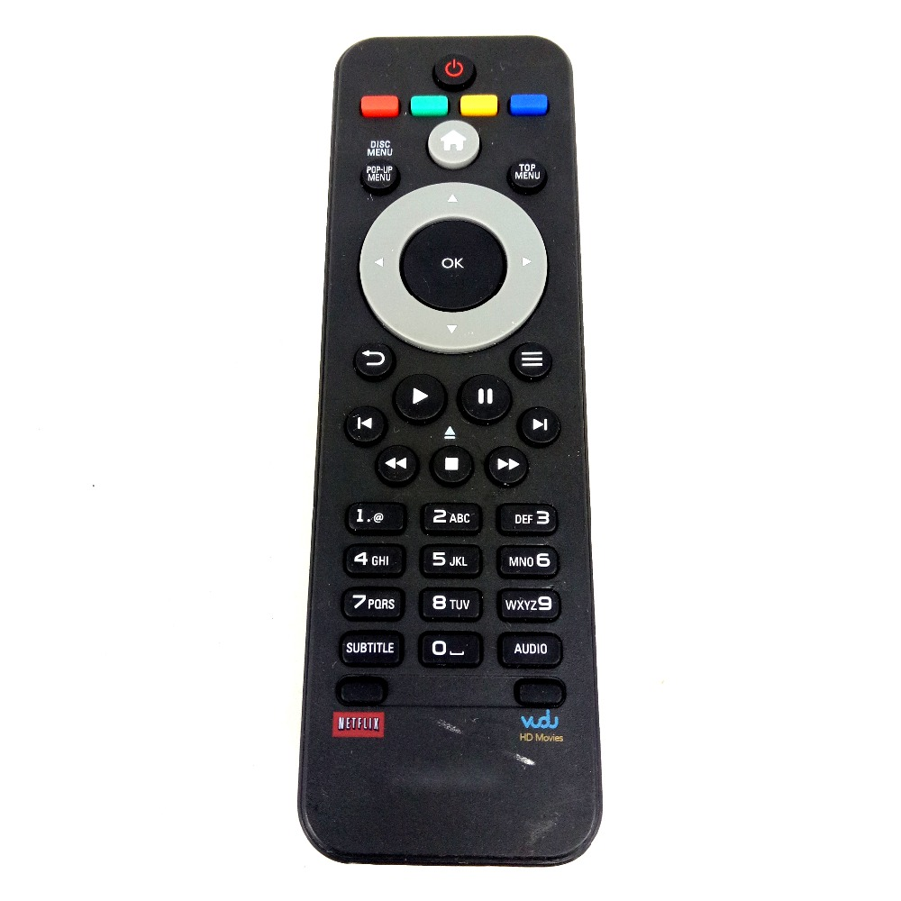 used original for philips netflix vudu dvd remote control in remote controls from consumer. Black Bedroom Furniture Sets. Home Design Ideas