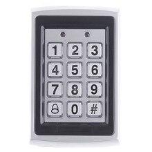 Excessive Safety RFID Entry Metallic Door Lock RFID/EM Keypad Proximity Card Entry Management System + 10 Key Fobs