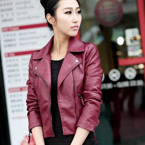 Popular Red Biker Jacket-Buy Cheap Red Biker Jacket lots from ...