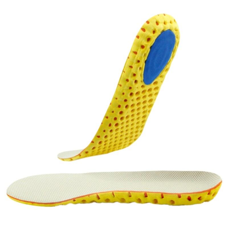 1 пара спортивная обувь EVA дезодорирующие стельки амортизацию спортивной Вставить Pad Новый