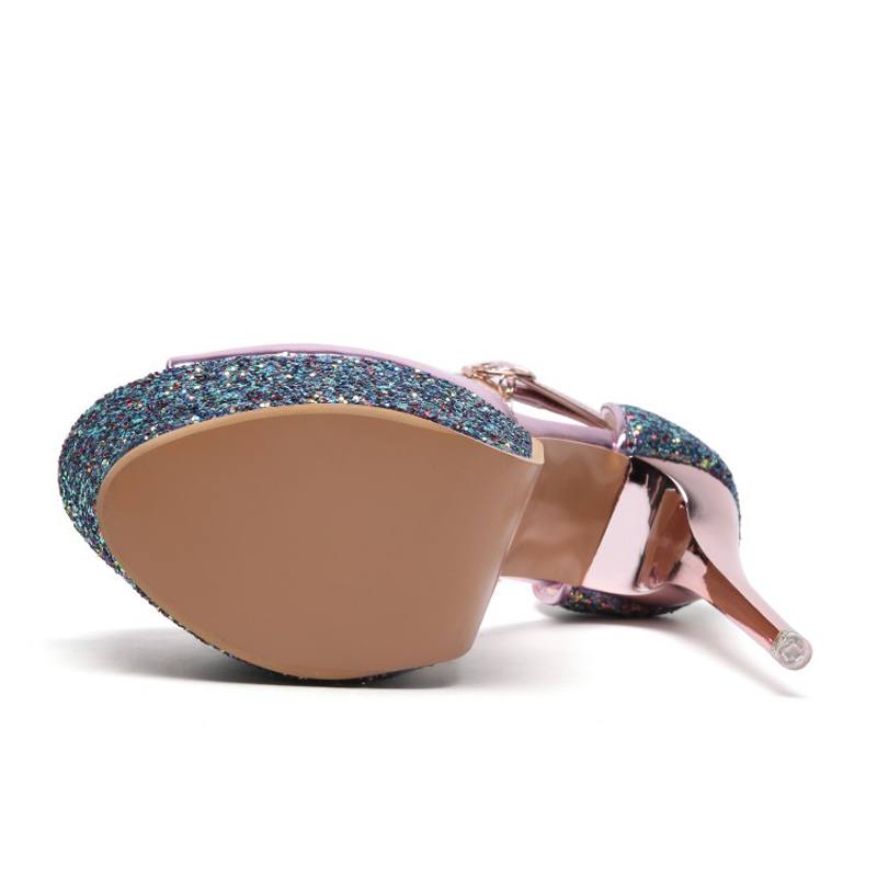 Zapatos Mujer J57 Purpurina Plataforma Charol pink Y Extremo Fiesta Para Tacón silver Boda Sandalias J57 Con J57 Alto De Gold Plata qAwgES