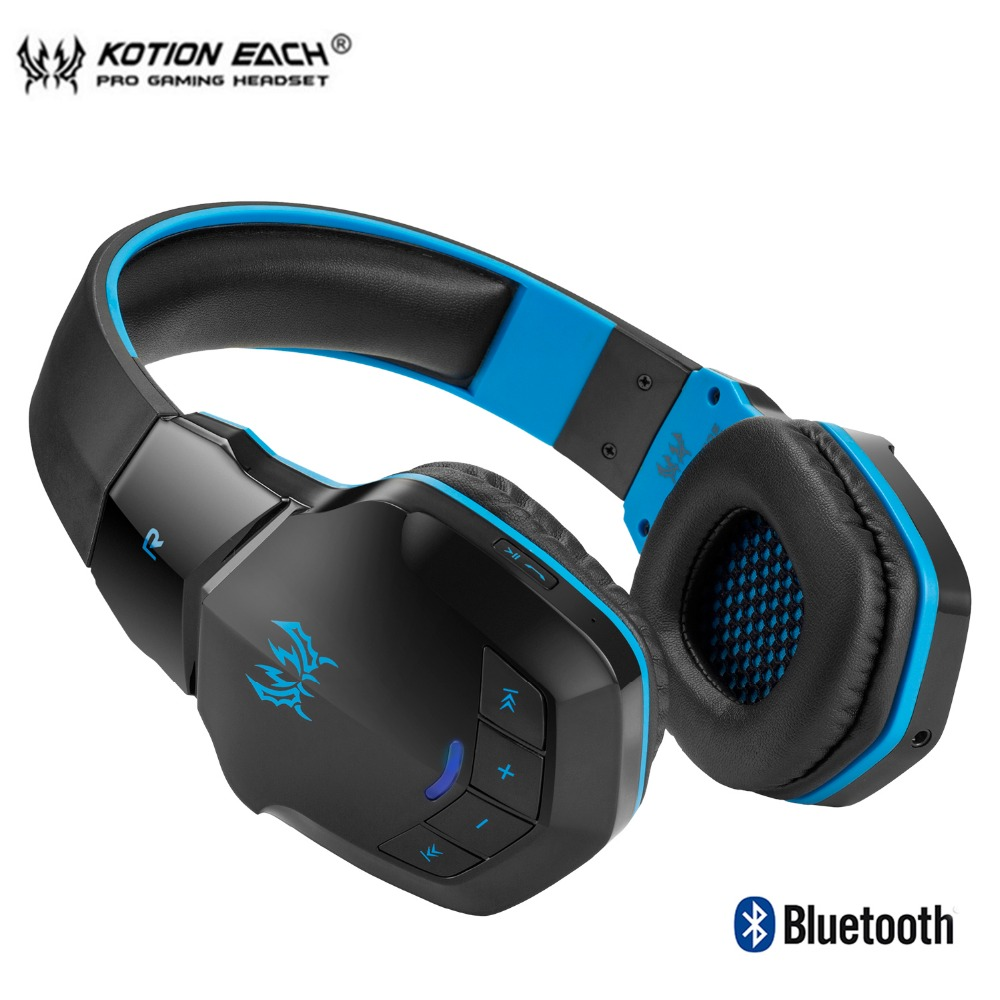 90d28d29e27 KOTION EACH B3505 wireless bluetooth gaming Headphones sport earphones  Gaming headset Headphone Microphone for phone PC