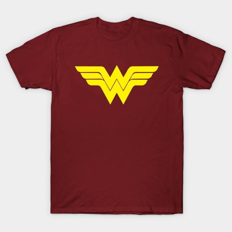 High-Q Unisex Wonder Woman Batman baumwolle T-shirt t-shirt Preppy Atmungs Diana Prince...
