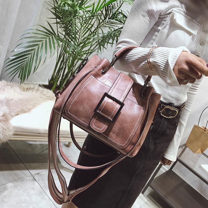 Женская Мода ретро искусственная кожа Сумка г-жа сплошной Цвет молнии пряжки сумка-мешок # F