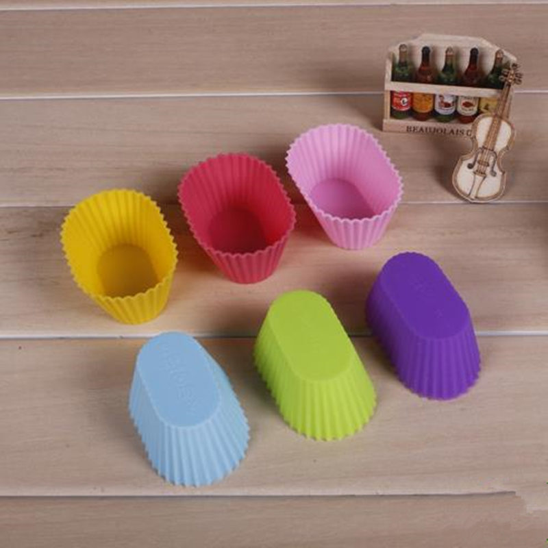 Cake Silicone Mold Fondant Pan Muffin Cupcake Form Cake Decorating Tools Kitchen Baking Pastry Tools F20173429