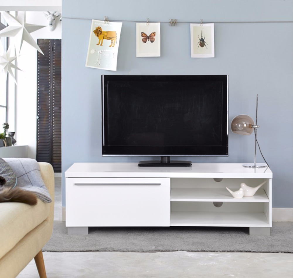 Aingoo Modern TV Stand White Living Room Furniture Table Is Perfect For Ny Kind Of In Stands From On Aliexpress