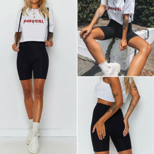 2019 Sexy Short Women's Cycling Shorts Dancing Gym Biker Hot Shorts Active Lady Stretch Exercise Casual Running Short G0711