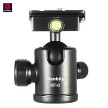 Manbily KF-0 штатив для камеры с шариковой головкой алюминиевая шаровая Головка панорамная головка с направляющей головкой W 2 встроенных уровня духов DSLR KF0