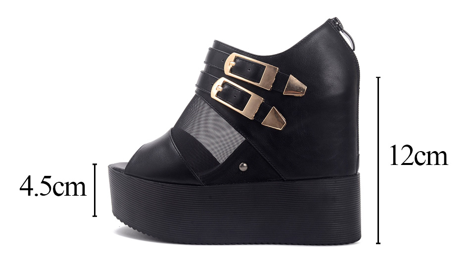 gothic shoes woman