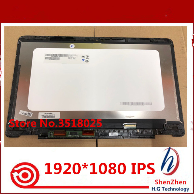 Original 14 Touch LCD screen assembly with frame For font b Acer b font Spin 7