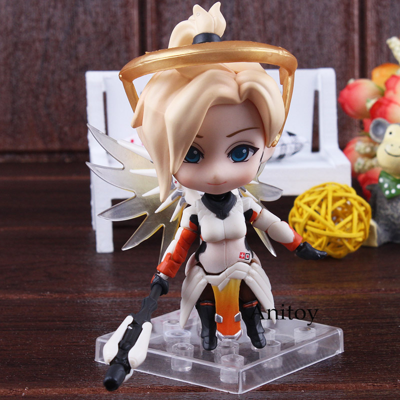 Nendoroid 790 Mercy Classic Skin Edition PVC Mercy Figure Action Figure Collectible Model Toy Doll 1 6 figure doll journey to the west monks the monkey king 2 tang monk 12 action figure doll collectible figure toy model