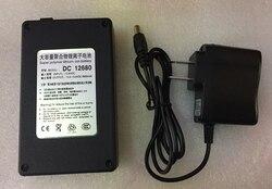 MasterFire Portable Super capacité batterie Rechargeable Lithium-ion Batteries Pack cc 12680 12V 6800mAh pour moniteur de caméra de vidéosurveillance