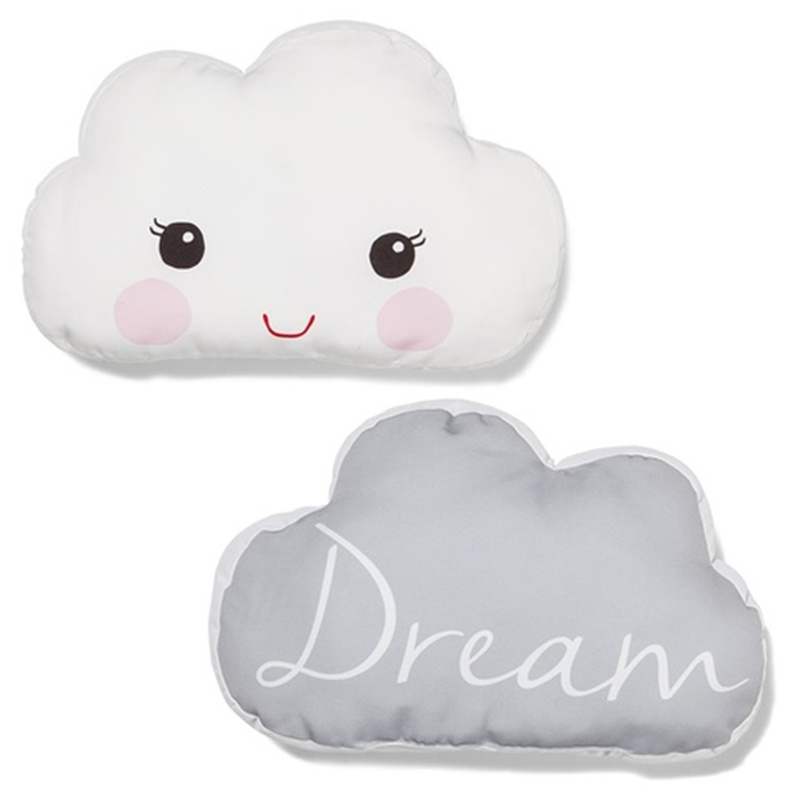 Pillow Decorative For Sofa Big Lots Sectional Sofas 2016 Baby White Cloud Style Stuffed Toys Kids Room ...