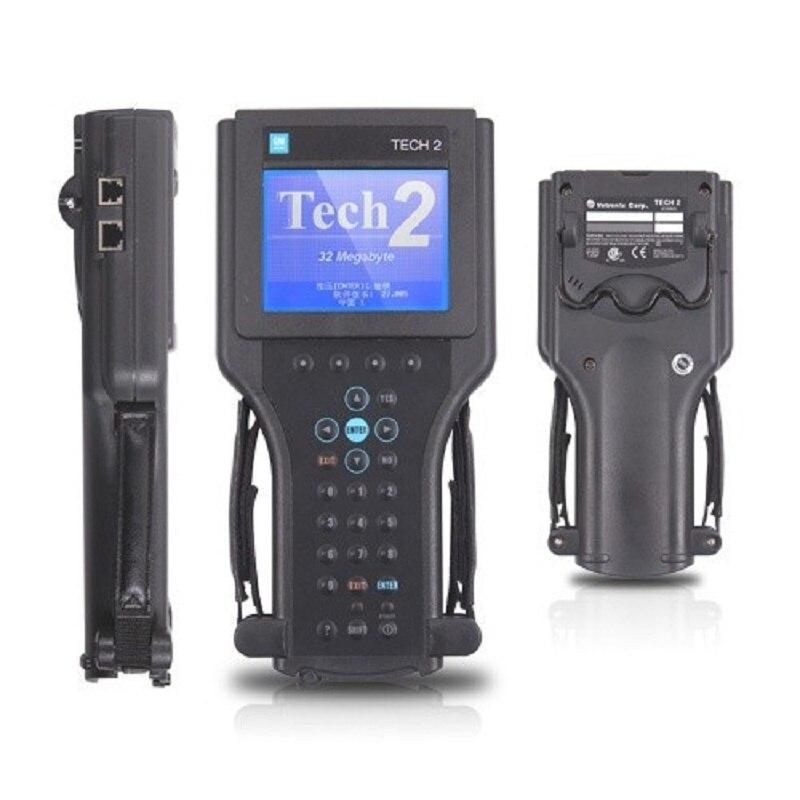 2019 tech2 outil de diagnostic pour G-M/SAAB/OPEL/SUZUKI/ISUZU/Holden tous les 6 progiciels g-m tech 2 scanner dhl livraison gratuite