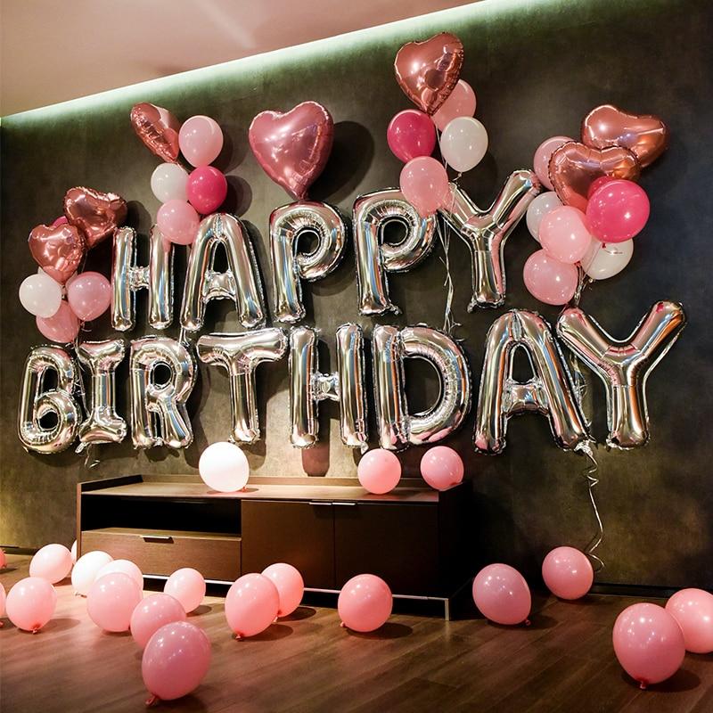 Aliexpress.com : Buy 1Set 32Inch Alphabet Happy Birthday