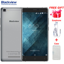 Оригинал Blackview A8 Макс ROM 16 ГБ RAM 2 ГБ LTE 4 Г 5.5 »Android 6.0 MTK6737 Quad Core 1.3 ГГц Поддержка Смартфон GPS Dual SIM