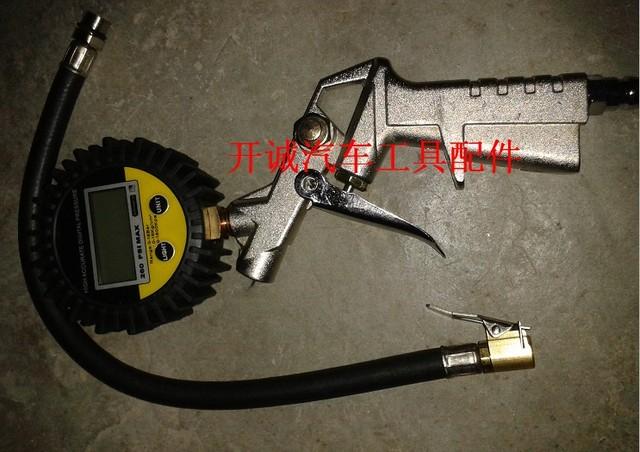 Medidor de pressão de pneu mesa de pressão dos pneus medidor de pressão dos pneus airgauge mesa mesa de gás tipo eletrônico inflável adicionar a traquéia