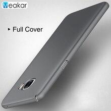 Полное покрытие жесткий Пластик основа 5.2for Samsung Galaxy C5 чехол для Samsung Galaxy C5 C500 C5000 сотового телефона чехол