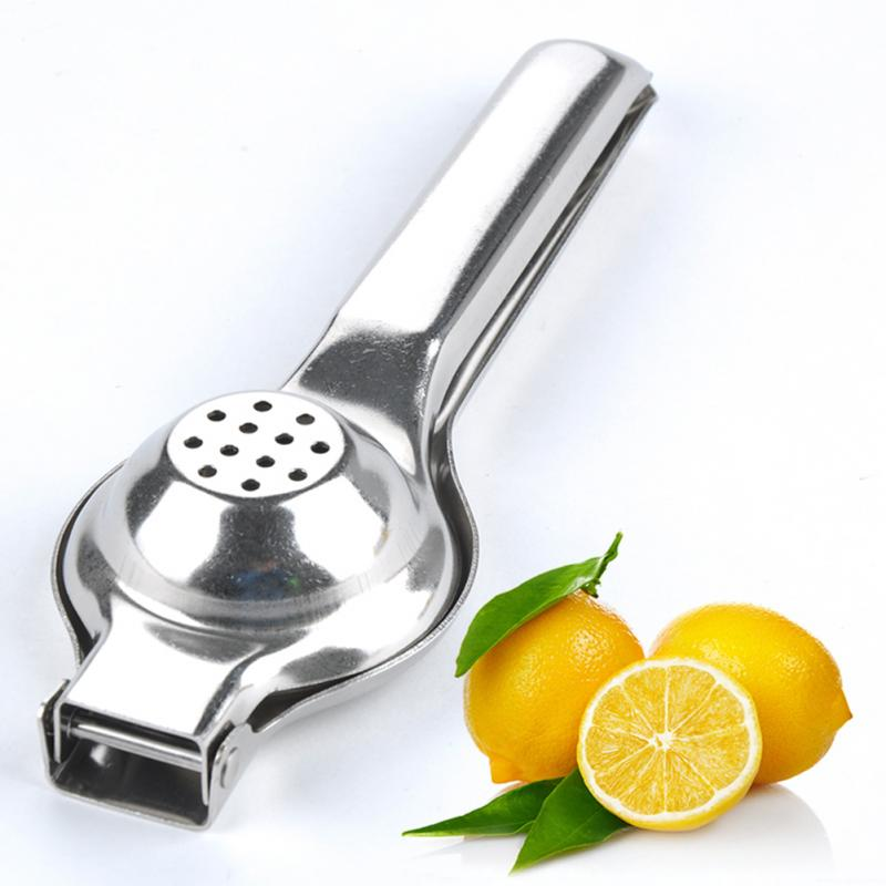 Stainless Steel Fruits Squeezer Orange Hand Manual Juicer Kitchen Tools Lemon Juicer Orange Juice  Fruit Extractor high quality multifunctional kitchen tools daily necessities fruits cutter stainless steel apple corer