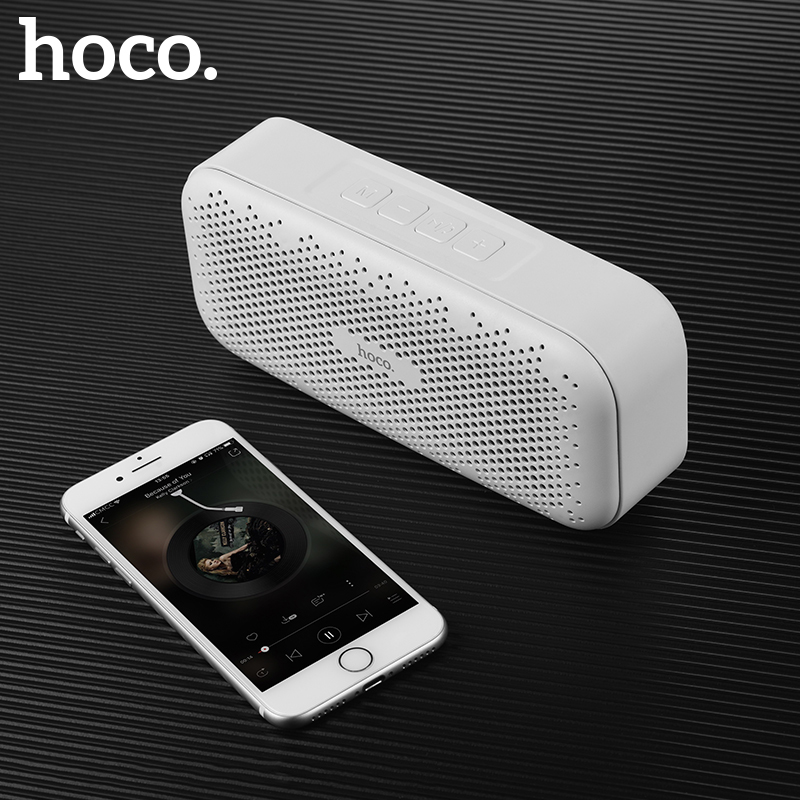 HOCO Mini 5W Stereo Wireless Bluetooth Speaker Super Bass Portable Outdoor Loudspeaker for iPhone X XS Samsung XiaomiHOCO Mini 5W Stereo Wireless Bluetooth Speaker Super Bass Portable Outdoor Loudspeaker for iPhone X XS Samsung Xiaomi