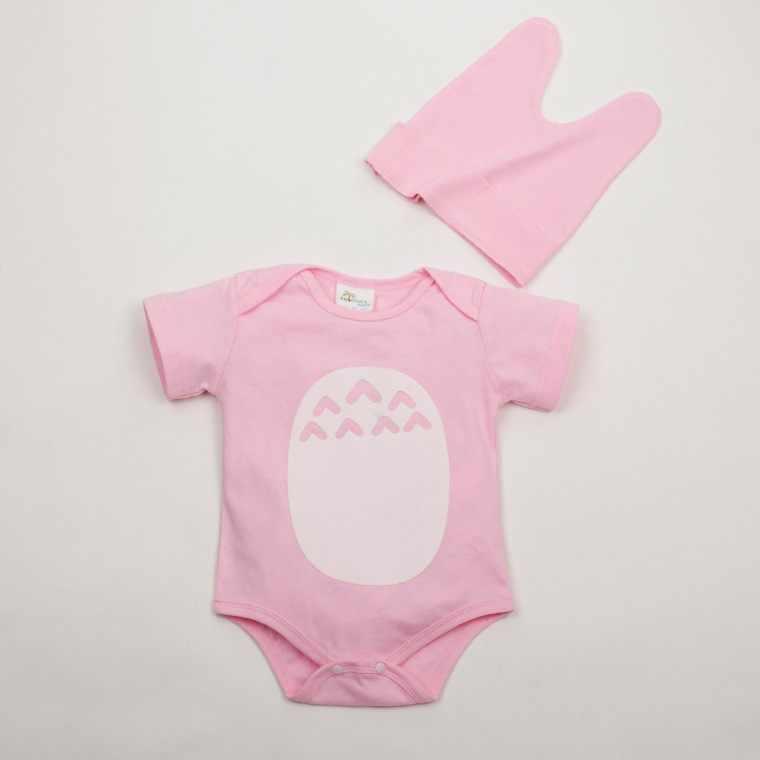 Ropa de bebé 100% de algodón mamelucos unisex bebé niño niñas Verano de manga corta de dibujos animados niño ropa linda