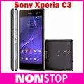 Sony Xperia C3 D2533 D2522 S55U teléfono celular Original Quad Core Android Smartphone 3 G 4 G Wifi GPS teléfonos móviles 5 / 8MP cámara