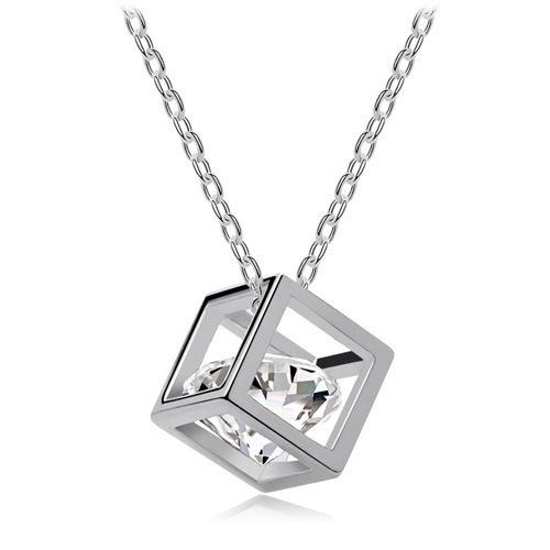 Cute Geometric Crystal Pendant