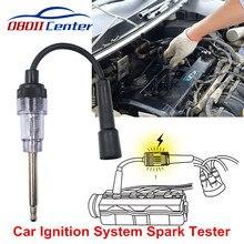 Машина система зажигания тест er Свеча зажигания для автомобиля тестовый инструмент мини авто катушка зажигания провода тест er автомобиль диагностическое приспособление для двигателя