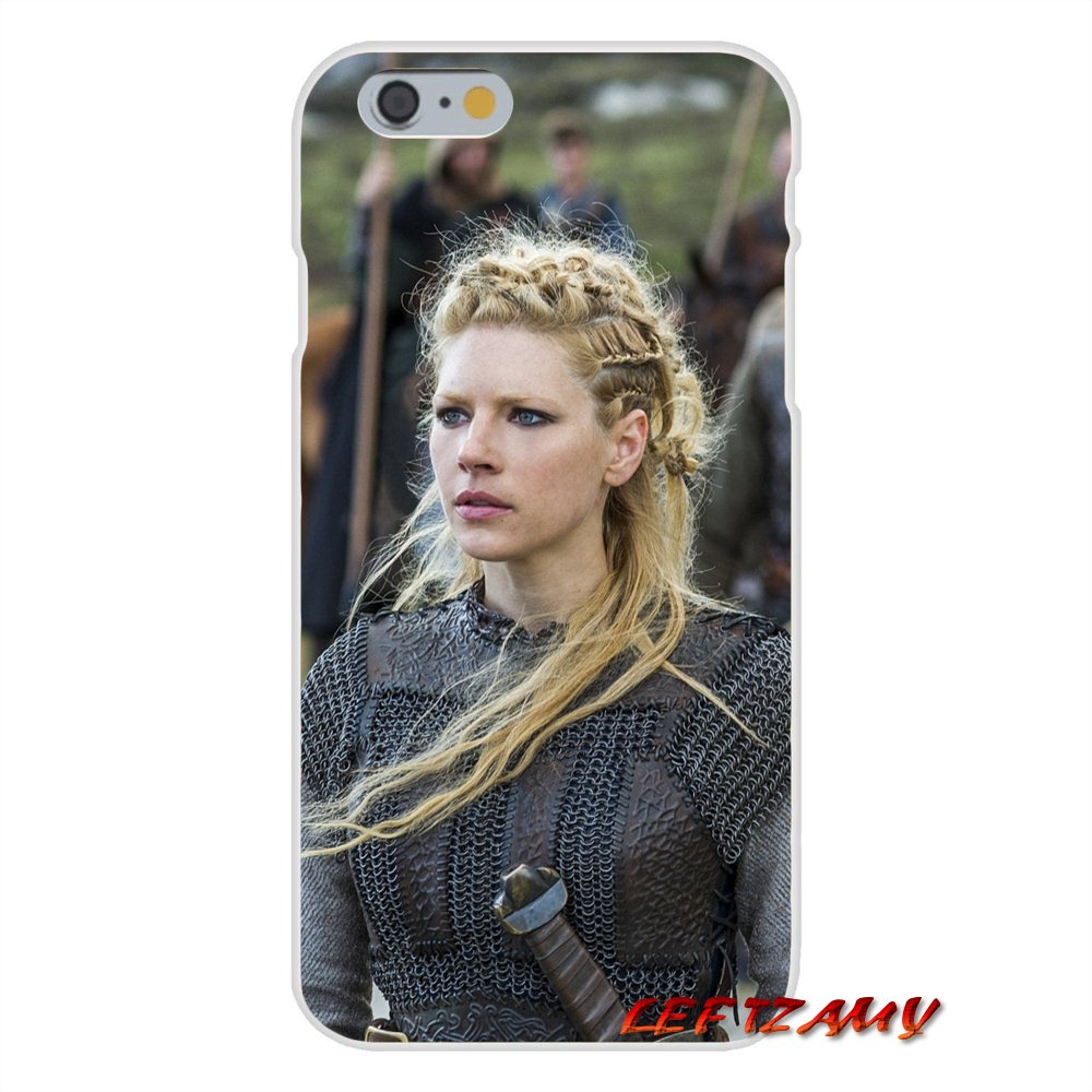 TV vikings Lagertha Slim Silicone phone Case For Samsung Galaxy S3 S4 S5 MINI S6 S7 edge S8 S9 Plus Note 2 3 4 5 8