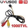 Uvusee CCTV 1/3 Sony CCD 1000TVL 3 6mm audio Mikrofon HD Mini Sicherheit Überwachung Kamera-in Überwachungskameras aus Sicherheit und Schutz bei