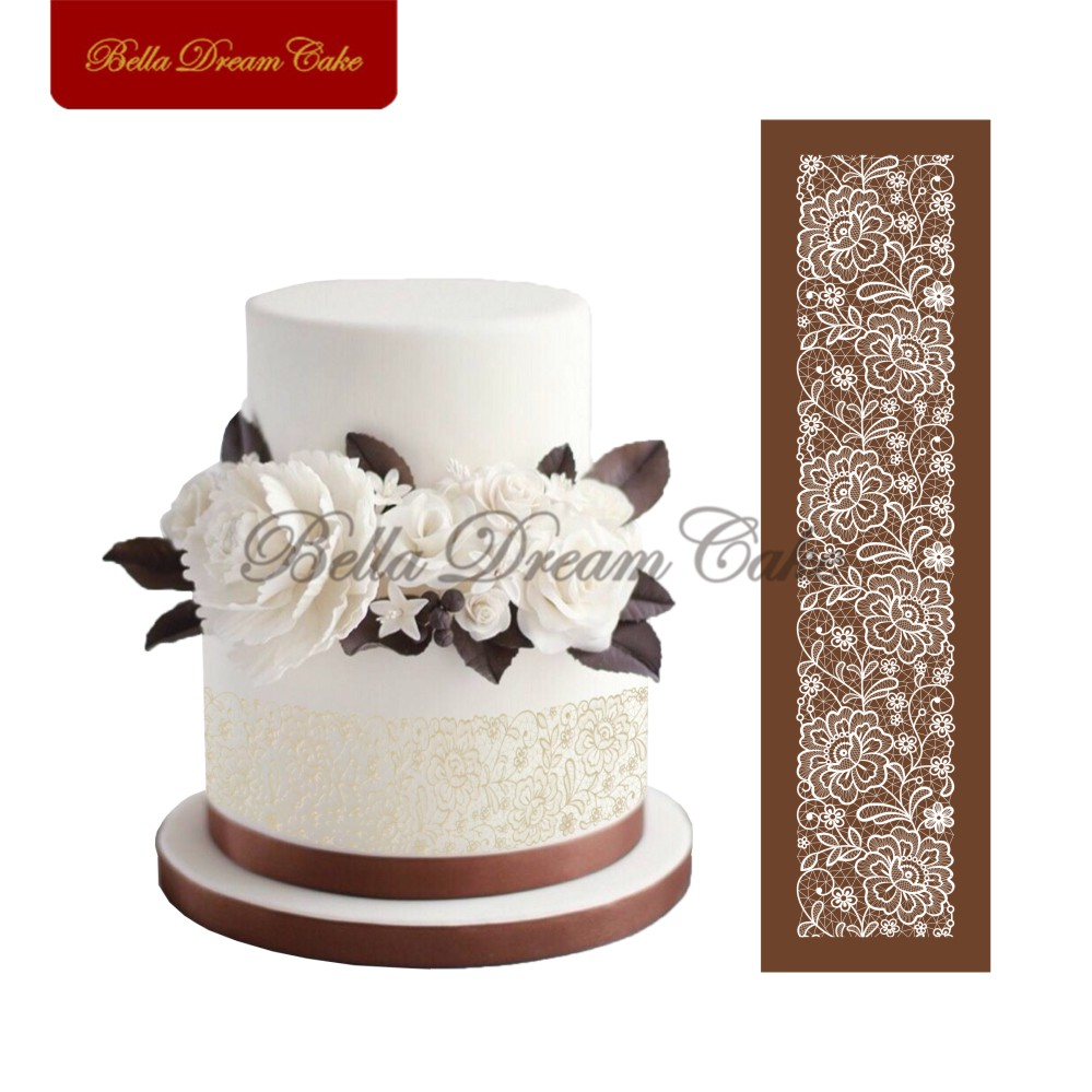 Cake Design Utensils : Online Get Cheap Flower Stencil Designs -Aliexpress.com ...