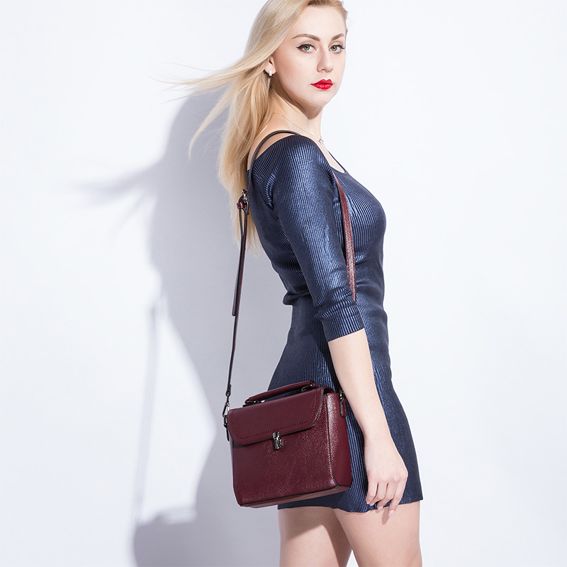 REALER Women Bag Fashion Women Messenger Bag Female High Quality Shoulder Crossbody Bags Ladies  Designer Handbag Famous Brands