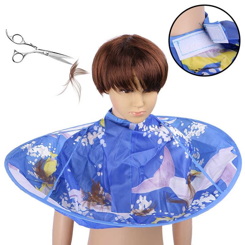 1 шт. креативный фартук DIY плащ для стрижки волос накидка-зонтик салон парикмахерский салон и домашний стиль с использованием волос Парикмахерские накидки одежда