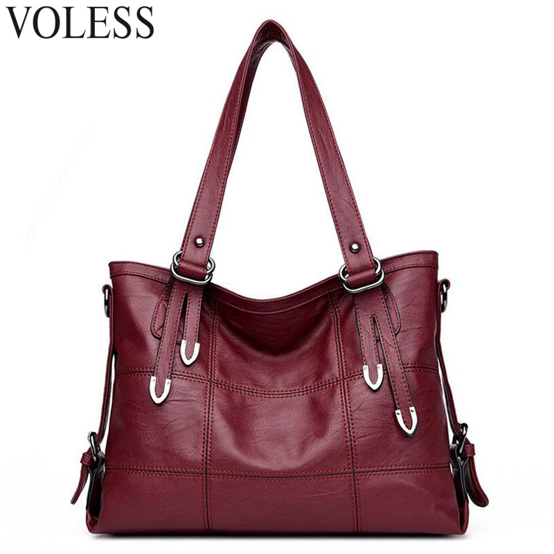 Fashion Patchwork Women Casual Tote Bags High Quality Pu Leather Women Handbag Vintage Large Crossbody For Women Shoulder Bags squirrel fashion large canvas patchwork vogue vintage zipper pattern brand versatile crossbody women travel tote shoulder bags