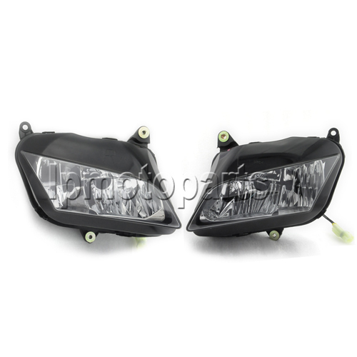Motorcycle Front Headlight Headlamp Assembly Fit Honda CBR600RR 2007 2008 2009 2010 CBR600 RR 07 08 09 10 Head Light New