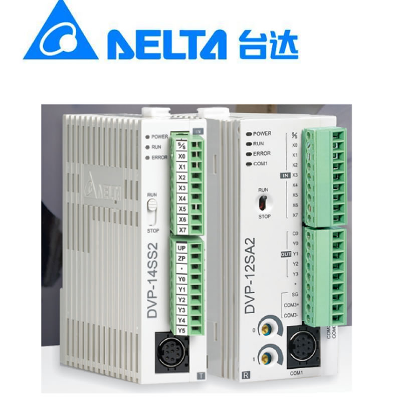 US $49 98 |Original Delta PLC module DVP08SN11TS programmable controller  DVP08SP11TS built in RS 232 and RS 485 communication port-in Motor Driver