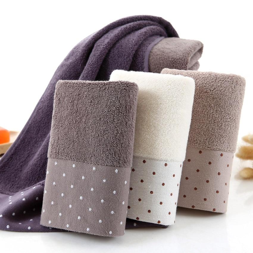 Image 2 - Large Cotton Bath Shower Towel Thick Towels Home Bathroom Hotel For Adults Kids Badhanddoek Toalha de banho Serviette de bain-in Towel Sets from Home & Garden
