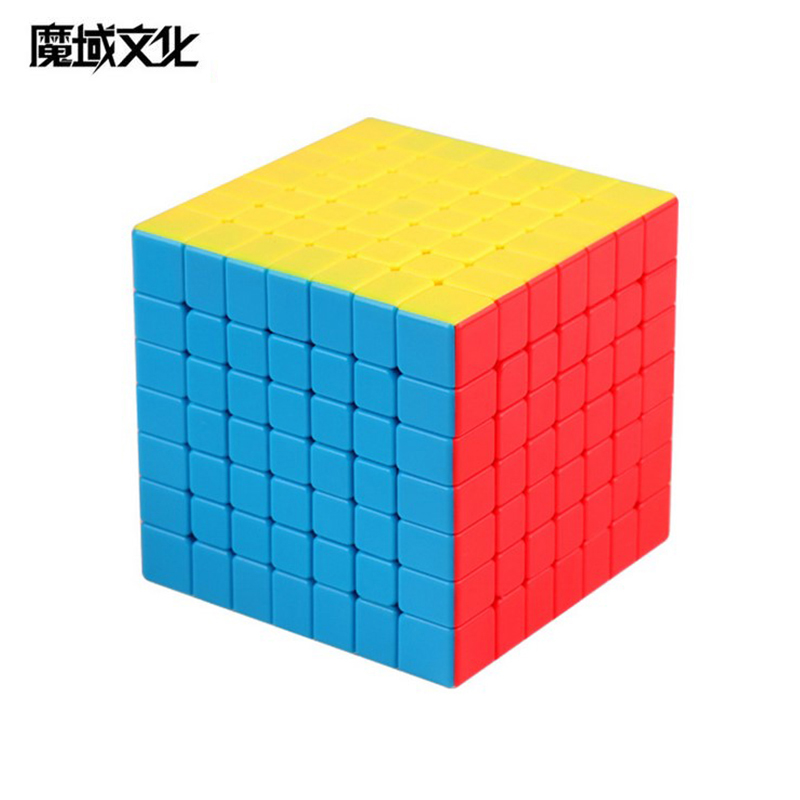 MoYu MeiLong Cubing Classroom MF8864 7x7 Magic Cube 7 Layers Colorful Puzzle Education Toys For Children For Adults Cubo Magico
