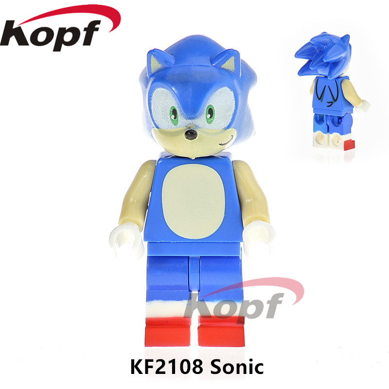 Single Sale Super Heroes Sonic Figure Unikitty Angry Queasy Kitty Human Torch Building Blocks Bricks Children Gift Toys KF2108 single sale black spider girl whiplash paladin spiderman building blocks super heroes bricks collection toys for children pg203