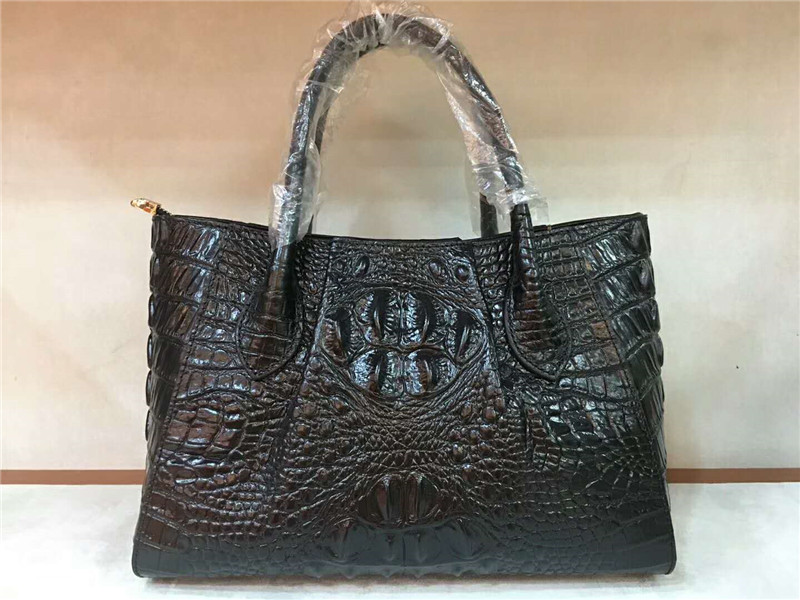 new Women Crocodile Pattern Bag 100% Genuine Leather Women Handbag Hot Selling Tote Women Bag DIOLEVY Brand Bags Luxury yuanyu new 2017 hot new free shipping crocodile leather women handbag high end emale bag wipe the gold