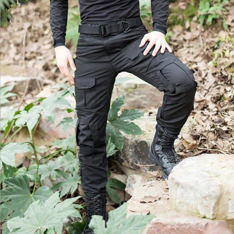 Los nuevos hombres camuflaje táctico militar pantalones del ejército uniforme militar G3 pantalones Airsoft Paintball combate pantalones de carga con la rodilla almohadillas-in Pantalones tipo cargo from Ropa de hombre on AliExpress - 11.11_Double 11_Singles' Day 1