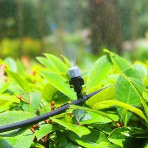 Image 5 - 10 m 20 pcs Mist Sprinkler หัวฉีด Water Misting ระบบทำความเย็นสวนกลางแจ้ง Patio พืชเรือนกระจกสเปรย์ท่อรดน้ำ Kit